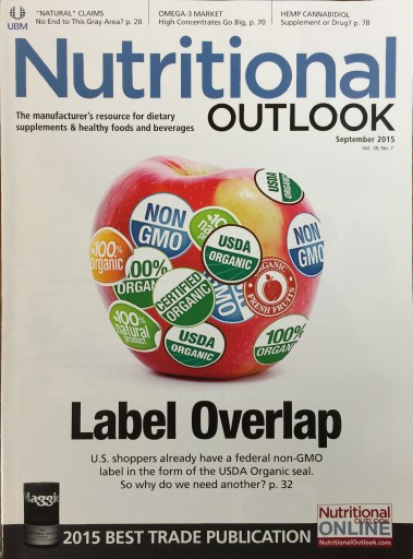 Media Scan for Nutritional Outlook