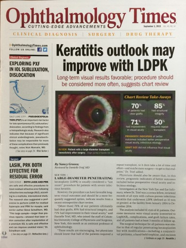 Media Scan for Ophthalmology Times