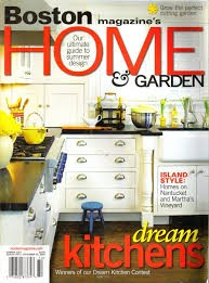Media Scan for Boston Magazine's Home & Garden