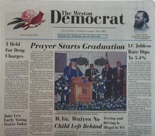 Media Scan for Weston Democrat