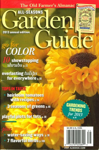 Media Scan for All Season's Garden Guide
