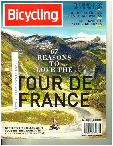 Media Scan for Bicycling Magazine