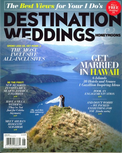 Media Scan for Destination Weddings & Honeymoons