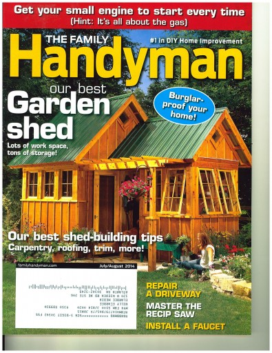 Media Scan for Family Handyman Onsert Program