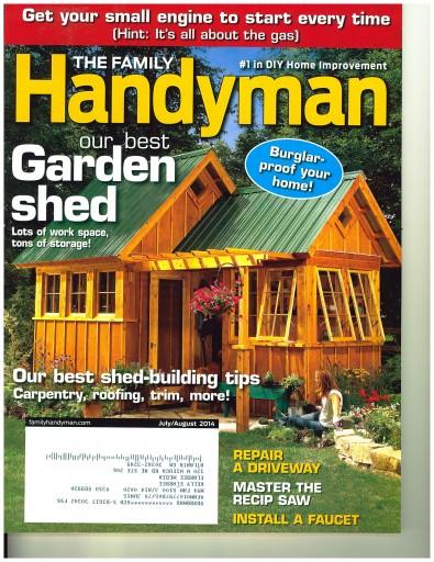 Media Scan for Family Handyman Onsert Program
