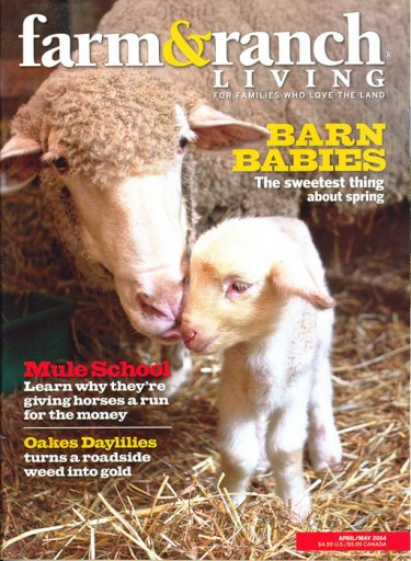 Media Scan for Farm & Ranch Living Magazine