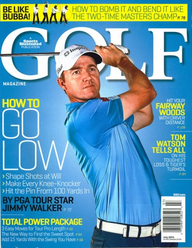 Media Scan for Golf Magazine