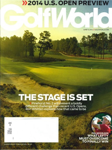 Media Scan for Golf World Magazine