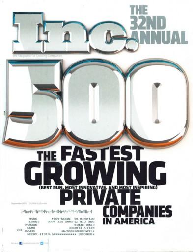 Media Scan for Inc. Magazine