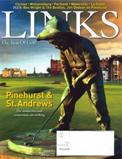 Media Scan for Links Magazine