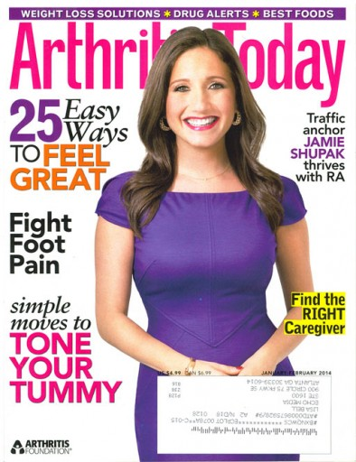 Media Scan for Arthritis Today Magazine