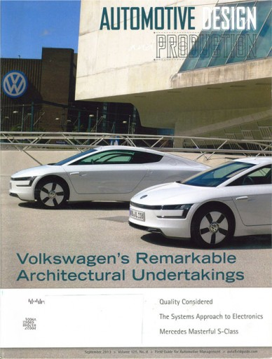 Media Scan for Automotive Design and Production Magazine