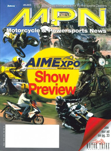 Media Scan for Motorcycle and Powersports News