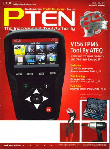 Media Scan for Professional Tool & Equipment News PTEN
