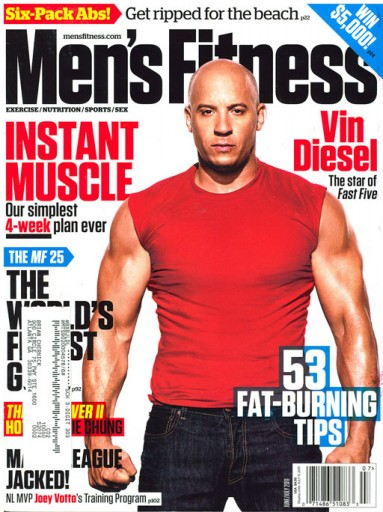 Media Scan for Men's Fitness