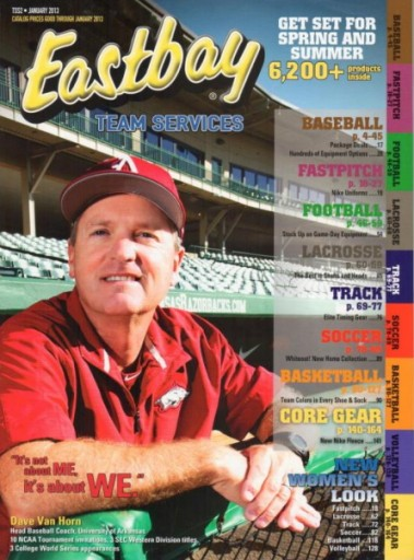 Media Scan for Eastbay Team Services Catalog Blow In