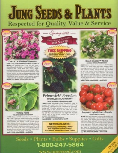 Media Scan for Jung Seed Catalog Blow In