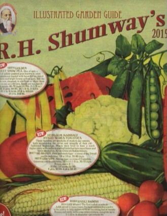Media Scan for Shumway's Seed Catalog Blow In Bind In