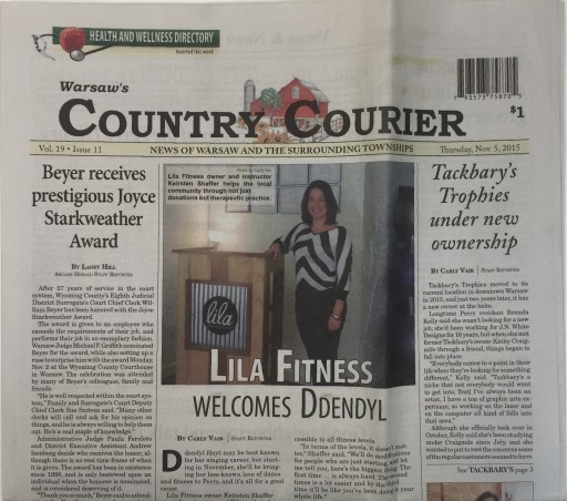 Media Scan for Warsaw Country Courier