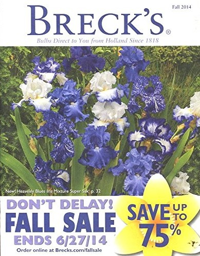 Media Scan for Breck's Dutch Bulbs PIP