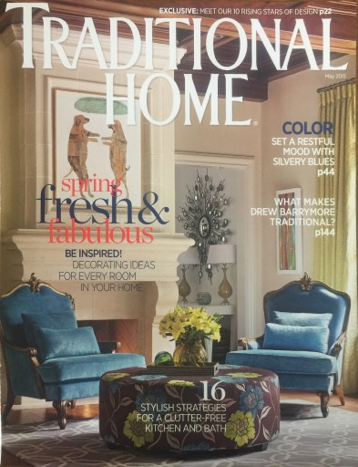 Media Scan for Traditional Home Magazine