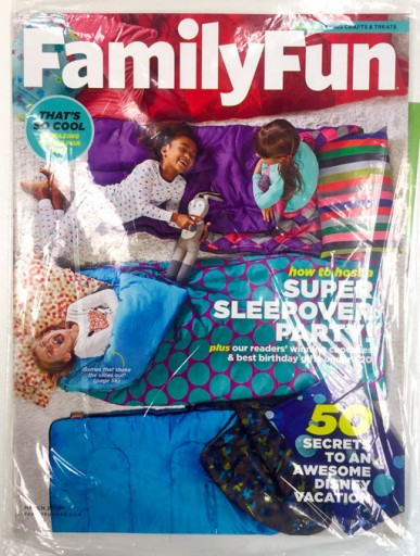 Media Scan for Family Fun Polybag Onserts