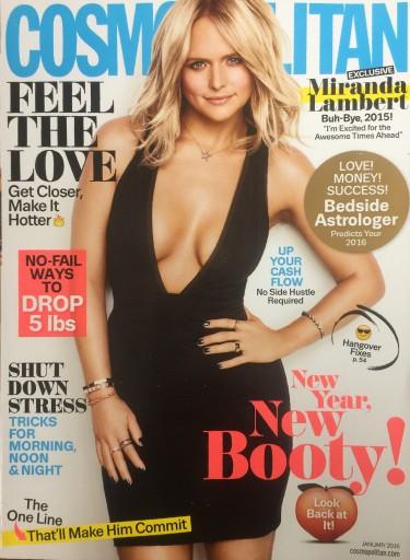 Media Scan for Cosmopolitan Polybag Onsert