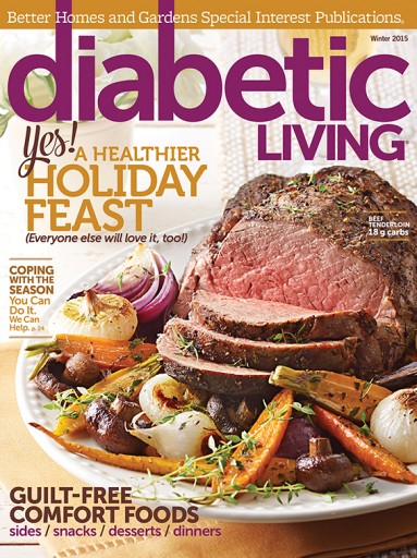Media Scan for Diabetic Living Polybag Onserts