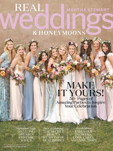 Media Scan for Martha Stewart Weddings Polybag Onserts