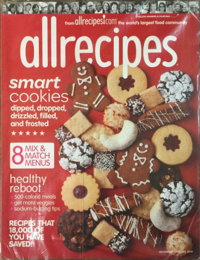 Media Scan for Allrecipes Polybag Onserts
