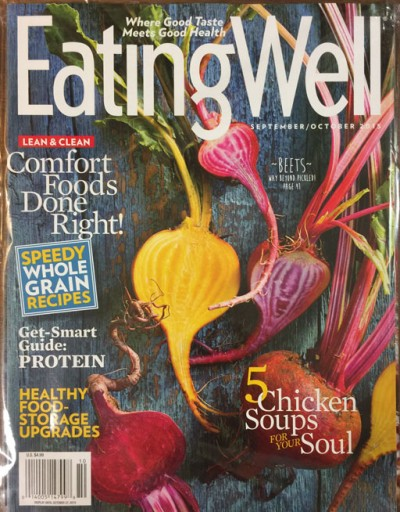 Media Scan for Eating Well Polybag Onserts