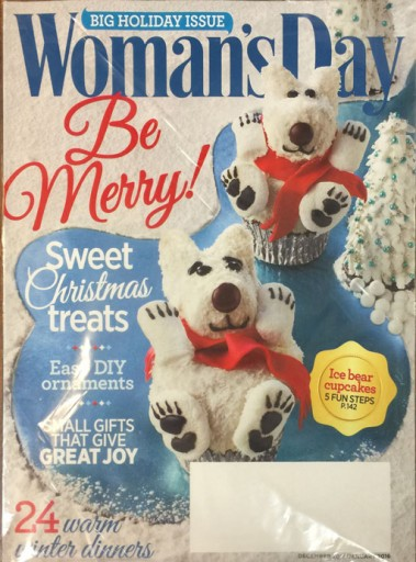 Media Scan for Woman's Day Polybag Onserts