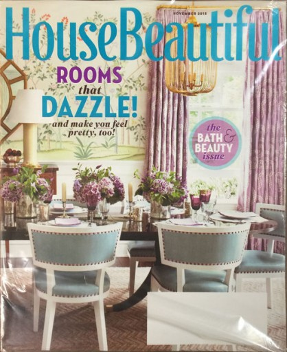 Media Scan for House Beautiful Polybag Onserts