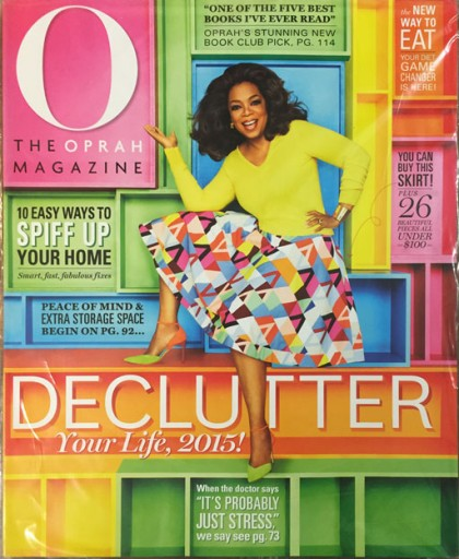 Media Scan for O, The Oprah Magazine Polybag Onserts
