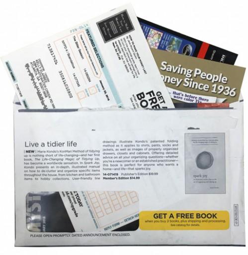 Media Scan for Bookspan Family Package Insert Program