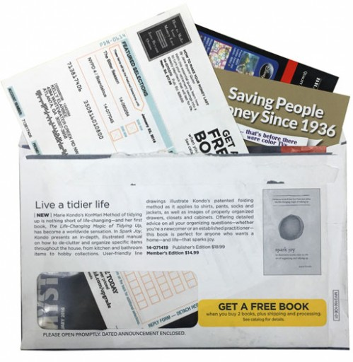 Media Scan for Bookspan Lifestyle Package Insert Program
