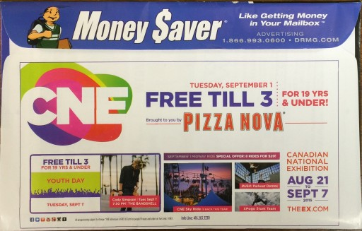 Media Scan for Money Saver Envelope