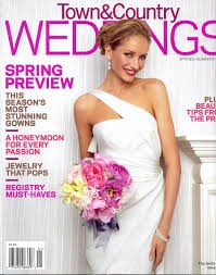 Media Scan for Town & Country Weddings