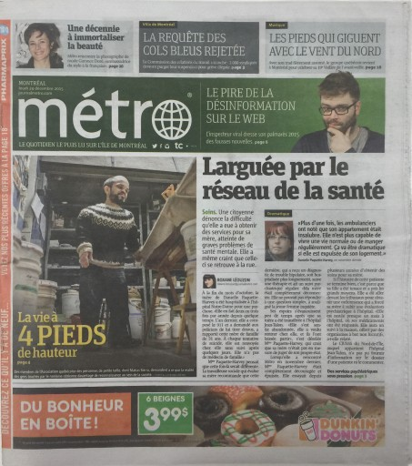 Media Scan for Montreal Metro