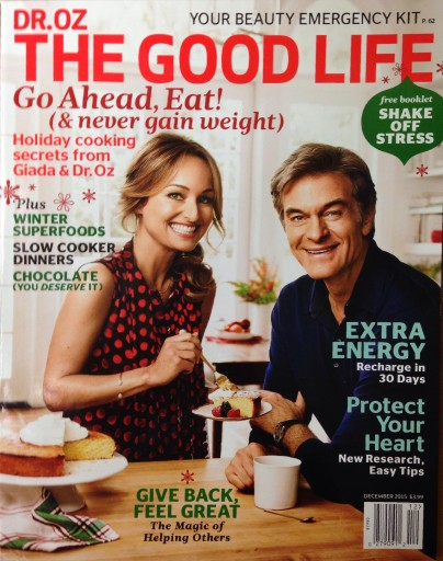 Media Scan for Dr. Oz The Good Life