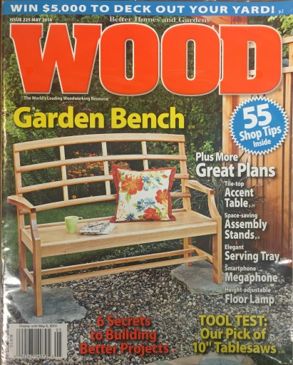 Media Scan for Wood Magazine Polybag