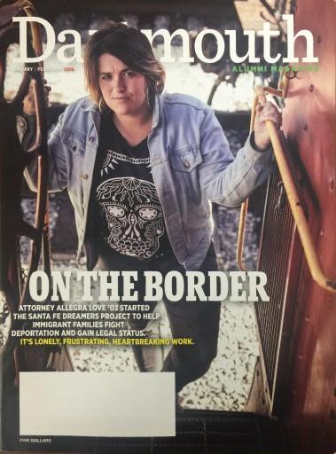 Media Scan for Dartmouth Alumni Magazine