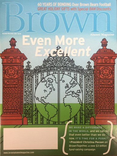 Media Scan for Brown Alumni Magazine