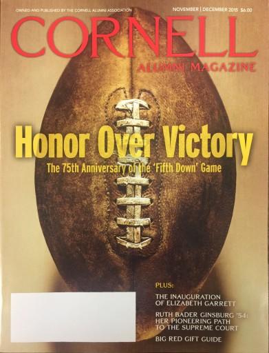 Media Scan for Cornell Alumni Magazine