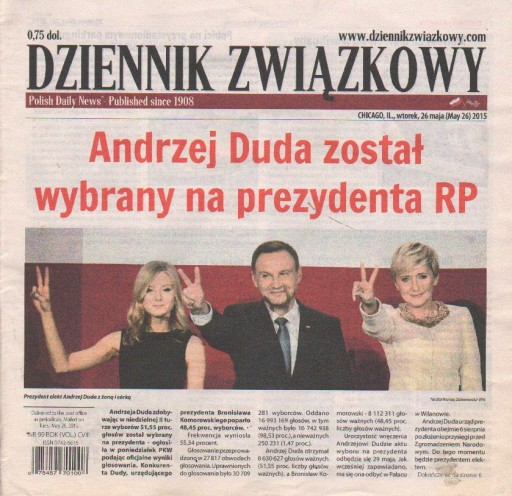 Media Scan for Polish Daily News - Chicago