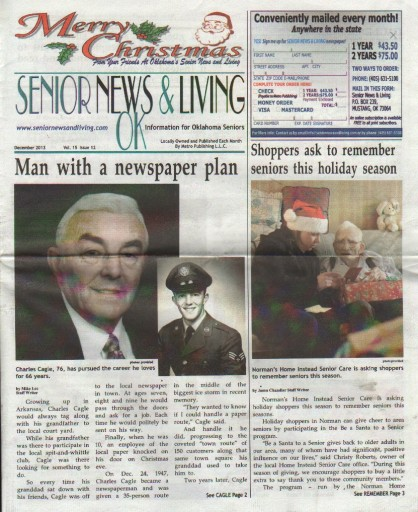 Media Scan for Senior News & Living Oklahoma