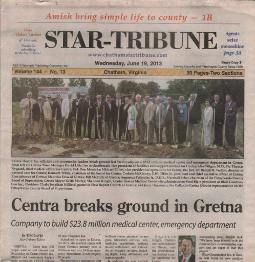 Media Scan for Chatham Star-Tribune