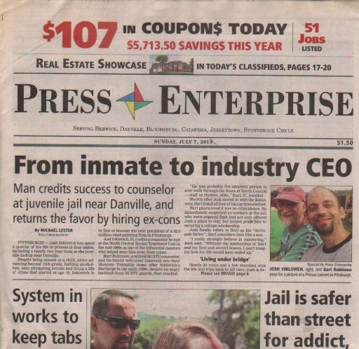 Media Scan for Bloomsburg Press Enterprise