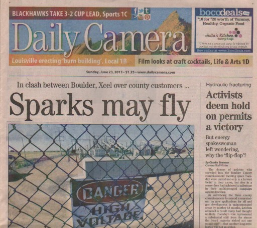 Media Scan for Boulder Daily Camera