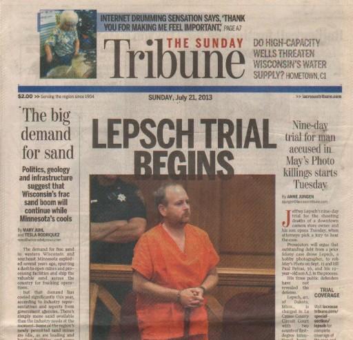 Media Scan for La Crosse Tribune